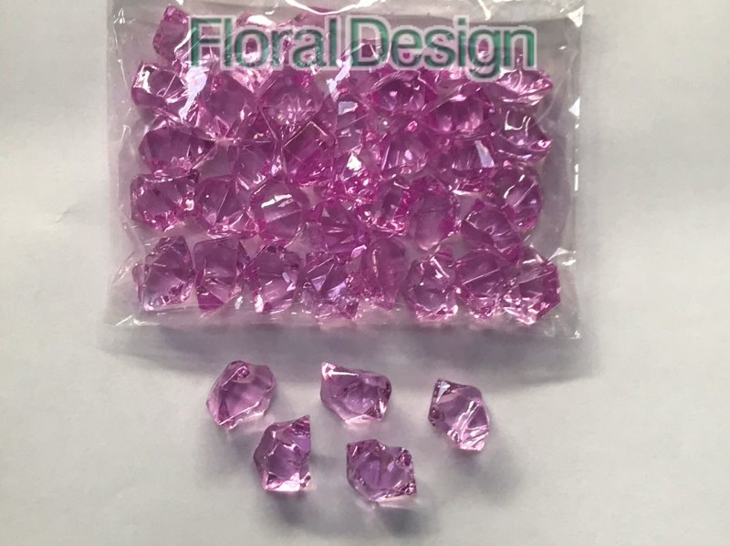 Diamant plast 20mm salmon